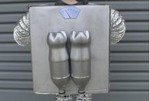 Disfraz robot Diego
