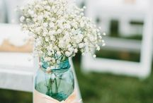 Summer wedding flowers / Floral arrangements for weddings