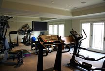 "Making the home gym ""work out"" / by Vanessa Ard"