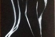 Draw nude paintings