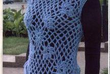 Crochet dresses & tops