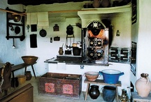Hungarian folk kitchen equipment