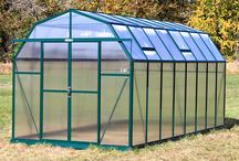 Grandio Elite Greenhouses / The Grandio Elite Barnstyle Greenhouse is one of the best greenhouses on the market!