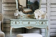Projects - Altered Bottles & Dressing Tables