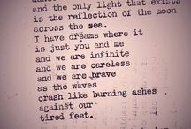 Favorite Poet / Christopher Poindexter / by Veronica Lamb
