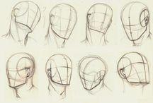 head draw
