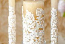 Декор свечи