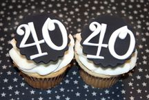 Cupcake toppers numbers