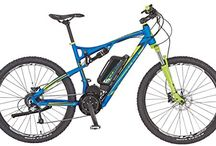 Prophete Herren Elektrofahrrad REX E-Bike Alu-Full Suspension MTB 650B 27.5 Zoll Bergsteige