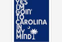 I've got Carolina on my Mind / All things Carolina