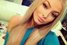 - Beauties ❤ / Beautiful. Makeup. Hairstyles.