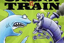 "Shark Vs. Train / ""I'm going to choo-choo you up and spit you out.""