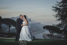 Romantic elopement wedding at Ravello Italy / Intimate elopement at Ravello on Amalfi Coast in Italy  by the local wedding planner Mario Capuano and Professional wedding photographer Enrico Capuano in the Garden Principessa di Piemonte - town hall of Ravello