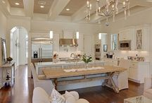 Love this kitchen great color pallet