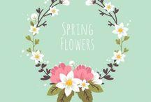 courronne de fleures