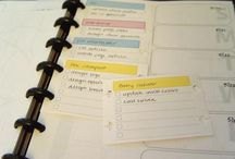 Arc notebooks / Planner ideas, printables, organising your life