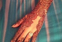 Magical Mehndi / Some of our favorite mehndi designs and styles!