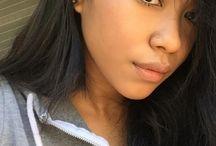 Blasian makeup