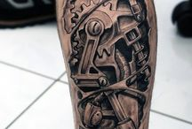 Mechanical Tattoos
