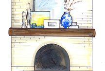 Mantle Masterpieces / by Stacy Jones Larson