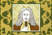 """Corelli / Arcangelo Corelli, 17 February 1653 - 8 January 1713 (age 59) Italian late baroque composer.  He has been called: - """"The Father of the Concerto Grosso"""" - """"Founder of Modern Violin Technique"""" - """"The World's Greatest Violinist"""""""
