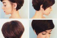 Frisur kurz