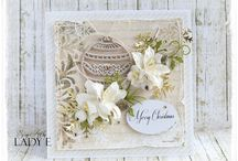 christmas cards, decorations