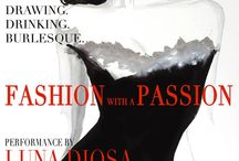 Fashion with a Passion / Dr Sketchy's are teaming up with Fashion City York to celebrate the world of fashion in our 22 April 2016 life drawing event - FASHION with a PASSION!  Are you wearing the dress or is it wearing you?