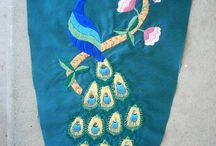 stitches and embroidery