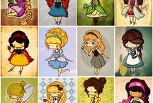 Disney Lányok