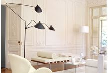 White Interiors.. Clean lines, charming features