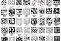 40 fine tangles from zentangles 3 alfabetisch