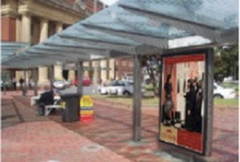 Adshells in situ / Wellington Print Campaign for Old Bank Arcade