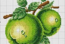 vysivani ovoce