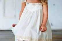 Vestidos de niña / by Annie