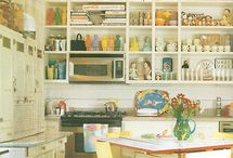 open shelves for kitchen / by Morris & Essex