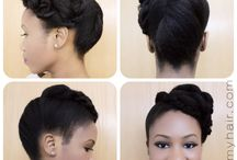 bridemaid updos