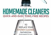 Alternative Cleaning / Avoiding or minimising chemicals as much as possible.