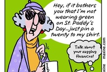 Maxine cartoons / Humor / by Rosalie Bedard
