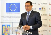 YIOULA in Romania-STIROM  SA / PM Victor Ponta  during  his visit to STIROM SA
