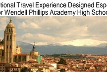 WPAHS Honors Spanish Class Trip to Spain! / Pictures by: Tameka Carter-Richardson, Teacher  and Phillips junior/senior students.      The students will visit: EL ESCORIAL, SEGOVIA, LA GRANJA and MADRID (TREASURES OF THE BOURBON MONARCHS)