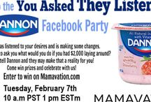 Online Parties / Join our twitter party and facebook party and get a chance to win exciting prizes!