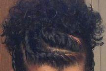 penteado cabelo crespo
