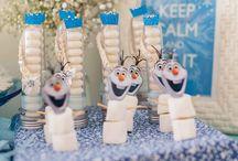 Festa Amanda Frozen / Decoracao Frozen