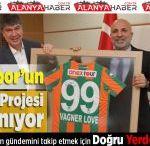 Alanyaspor'un Yeni Tesis Projesi Hazırlanıyor