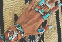 Boho jewelry and accessories