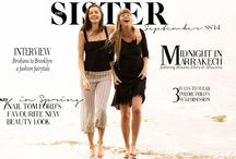 ohsister - monthly fashion magazine - September issue / ohsister is a new online fashion magazine - published on a monthly basis and dedicated to providing some quality.