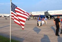 Honor Air Flight / Honor Flight takes World War II Veterans on an all-expenses paid trip to visit their memorial in Washington D.C. Join us Veterans Day, as we travel along for their 300th chartered flight on US Airways. / by WLOS News 13