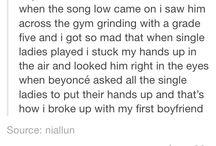 Awesome break ups