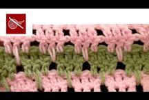 Crocheting Stitch Tutorials